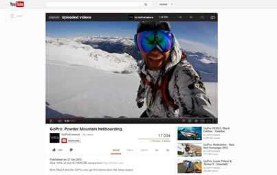 Youtube Redesign layout October 2012